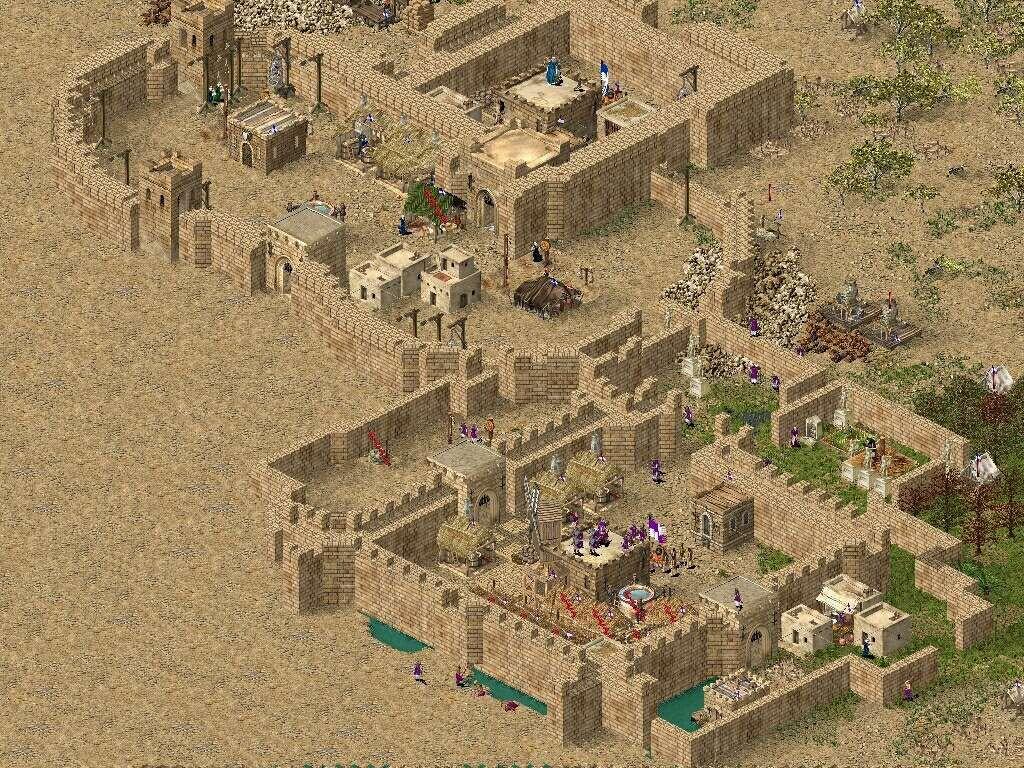 Скачать stronghold crusader на компьютер