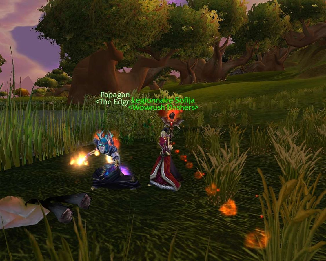 how to go underwater in world of warcraft