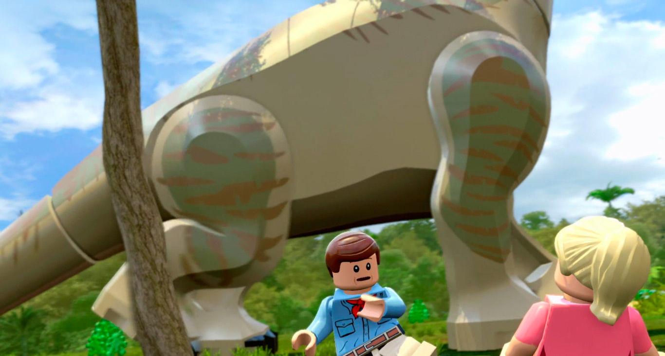 скачать игру лего парк юрского периода на компьютер
