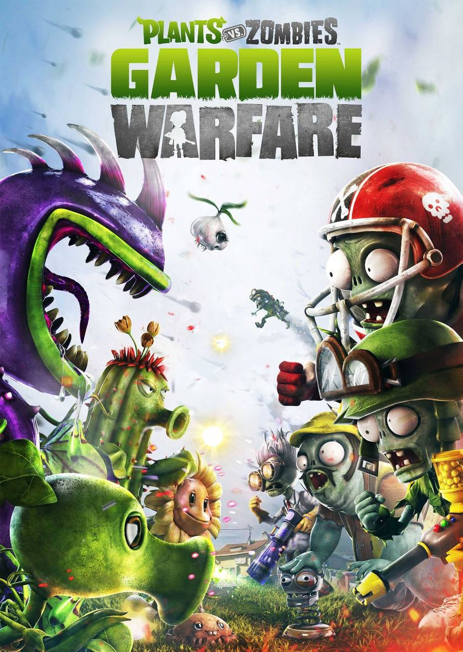 Скачать Plants vs. Zombies: Garden Warfare, скриншоты Plants vs. Zombies: Garden Warfare, Plants vs. Zombies: Garden Warfare торрент