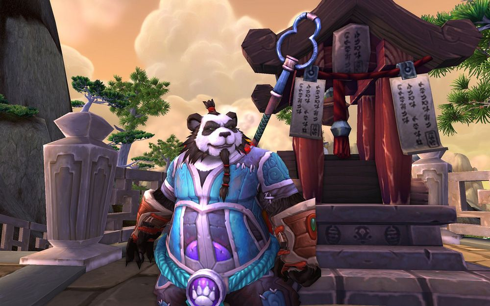World of Warcraft: Mists of Pandaria скриншот