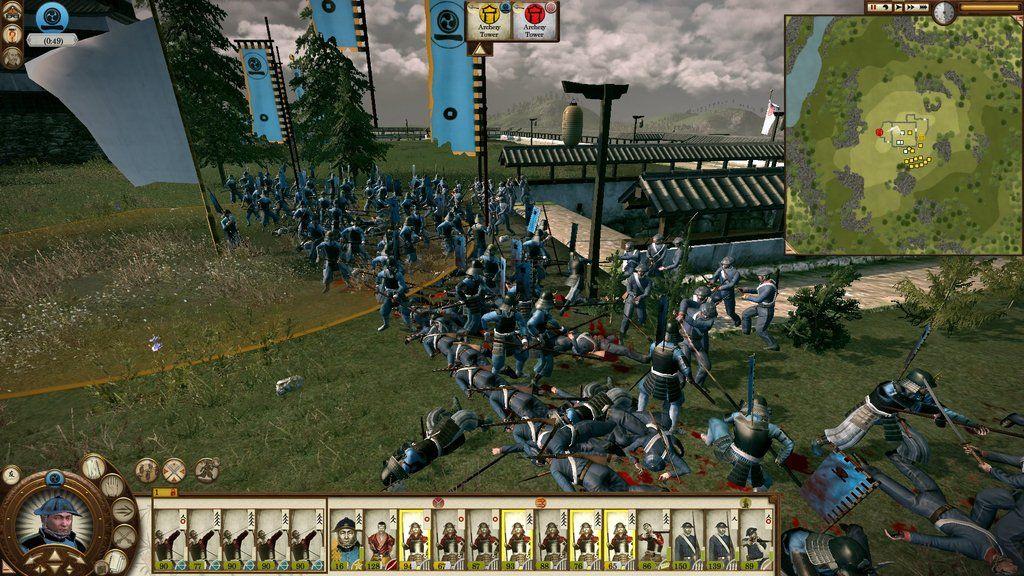 Total War: Shogun 2 - Fall of the Samurai скачать торрент