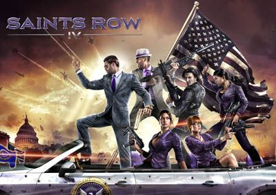 Игра Saints row IV