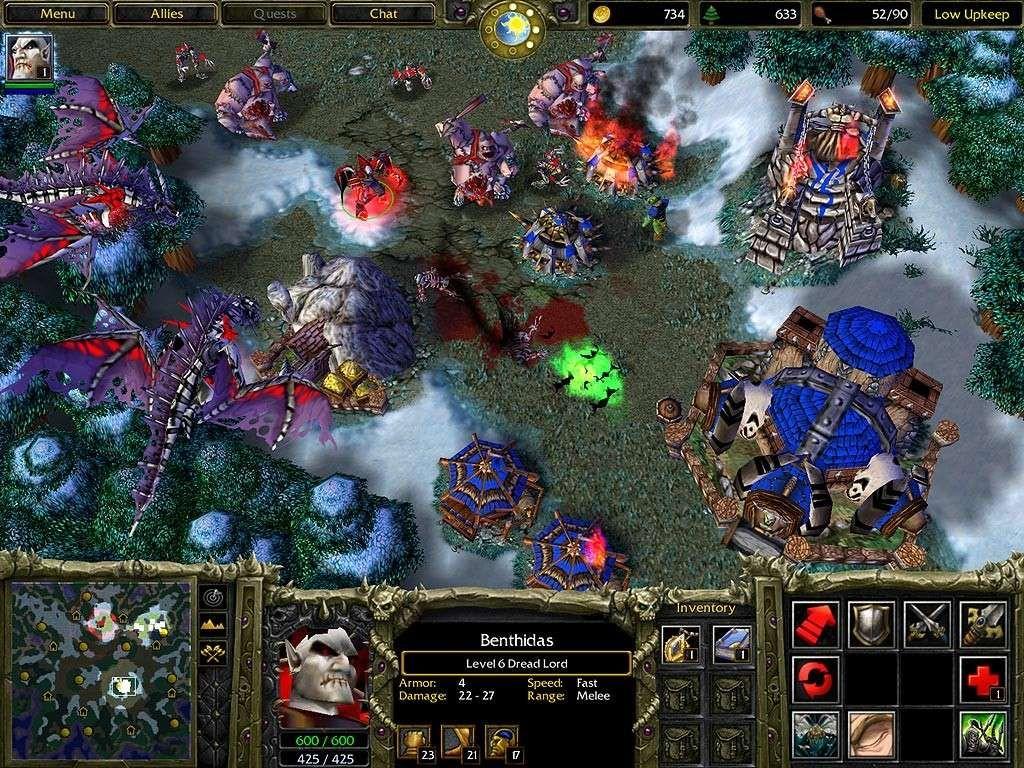 Скачать игры warcraft на компьютер