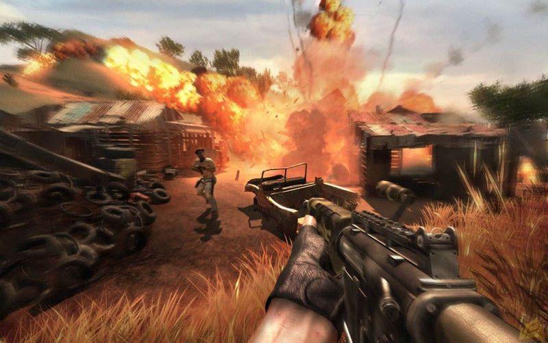 Far Cry 2 (FREEBOOT) Xbox360 » Скачать игры …