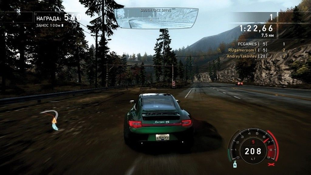 Скриншот  Need for Speed Hot Pursuit 2010