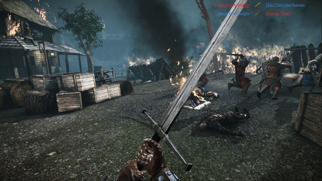 Скачать chivalry medieval warfare 2012 торрент.
